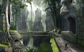 Picture traveler, facilities, Jungle Ruins