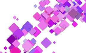 Wallpaper abstraction, squares, background, purple, squares