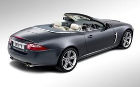 Picture convertible, jaguar, xkr