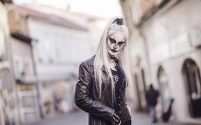 Wallpaper makeup, The Crow, makeup, girl