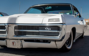 Picture Retro, classic, Pontiac, 1967, the front