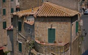 Wallpaper Home, Italy, Building, Italy, Tuscany, Italia, Toscana, Tuscany, Town