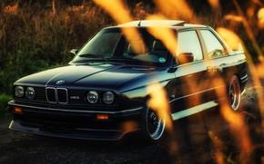 Picture Auto, Black, BMW, Machine, Boomer, E30, BMW M3, BMW E30, BMW E30 M3, Mike Crawat …