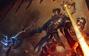 Picture the game, art, champion, sixmorevodka studioViktor - League of Legends