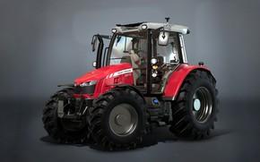 Picture tractor, Farming Simulator 17, Massey Fergusson MF5600