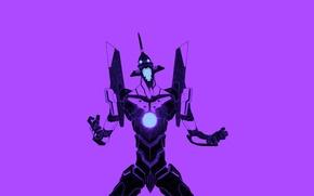 Picture evangelion, Neon Genesis Evangelion, Berserker, Eva-01, EVA Unit 01