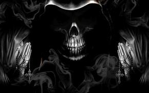 Picture dark, sacrilege, unholy, grim reaper