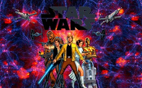 Picture the universe, star wars, Star wars