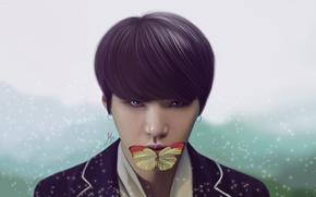 Wallpaper Suga, Min Yoon Gi, BTS, Bulletproof Boy Scouts, BangTan Boys