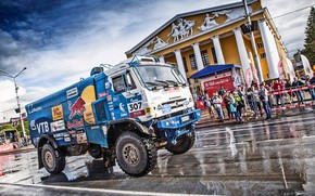Picture Road, The city, Sport, Speed, People, Race, Master, Russia, 307, Kamaz, Rally, Rally, KAMAZ, Master, …