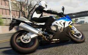 Picture The Crew, BMW S1000 RR, Realistic Bike Modelling