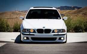 Picture BMW, White, E39
