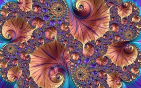 Wallpaper bright, pattern, color, fractal