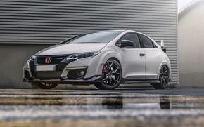 Picture Honda, White, Civic, Type-R, FK2
