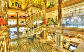 Picture Las Vegas, USA, the hotel, casino