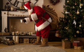 Picture fire, holiday, hat, toys, carpet, boots, candles, Christmas, Cup, gifts, New year, wood, gloves, coat, …