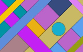 Picture colored, figure, crossing