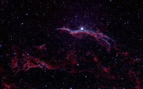 Picture Veil Nebula, The Veil Nebula, in the constellation, Swan