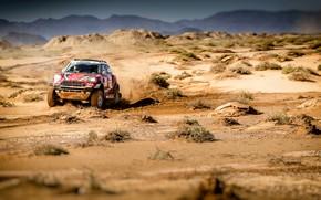 Picture Red, Mini, Sport, Desert, Race, Rally, SUV, Rally, X-Raid Team, MINI Cooper, X-Raid, X Raid, …