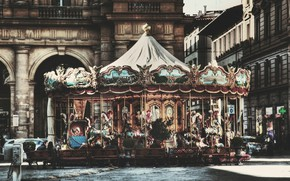 Picture HDR, Italy, Florence, Italy, Florence, Italia, Carousel, Firenze, Carousel, Piazza degli Strozzi