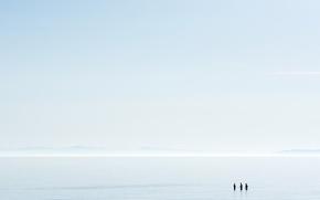 Wallpaper people, the sky, sea