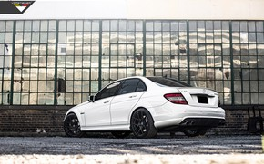 Picture Vorsteiner, White, Mercedes - Benz, C63, Tuning Car