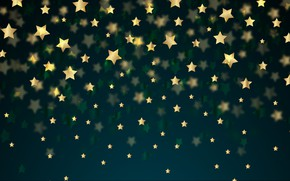 Picture background, texture, golden, stars