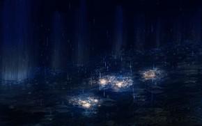 Picture night, rain, Y_Y