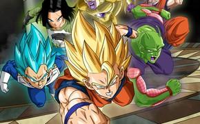Picture game, alien, anime, martial artist, manga, Dragon Ball, strong, Dragon Ball Super, japonese, 015