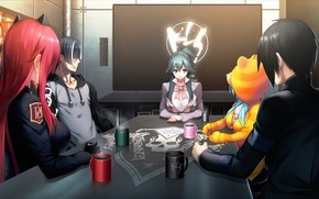 Picture table, manga, characters, Tokyo Necro