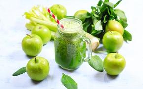 Picture apple, juice, mug, drink, fresh, fresh, drink, celery, Nitr