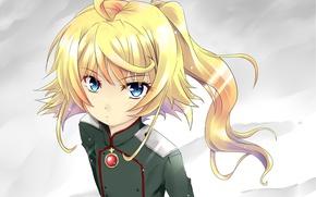 Picture kawaii, girl, soldier, military, war, eyes, anime, cross, blonde, asian, manga, oriental, asiatic, powerful, strong, …