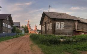 Picture village, Arkhangelsk oblast, Kimzha