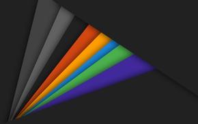 Picture line, orange, yellow, grey, blue, black, texture, wallpaper, green, design, color, material
