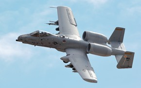 Picture Thunderbolt II, single, A-10C, twin-engine attack aircraft