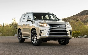 Picture Lexus, SUV, 2018, LX 570, Two Row