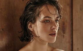 Picture portrait, actress, Jessica Brown Findlay