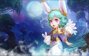 Picture the game, fantasy, art, girl, Bunny, invent