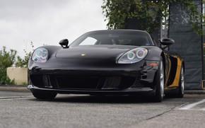 Picture Porsche, Black, Carrera