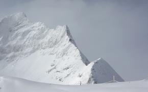 Wallpaper Winter, Snow, Mountain, Frost, Winter, Frost, Mountain, Snow