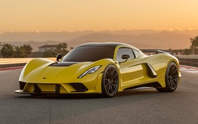 Picture supercar, Hennessey, hypercar, 2017, Venom F5