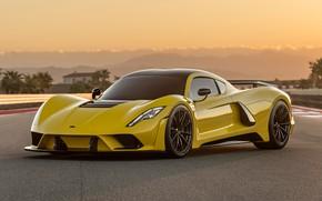 Picture supercar, Hennessey, hypercar, 2017, Venom F5