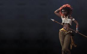 Wallpaper Jason Knight, girl. hunter, art, Huntress
