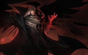 Picture art, League of Legends, Riot Games, moba, Swain, the Master Tactician