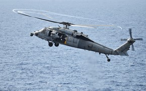 Picture Sea Hawk, MH-60S, deck helicopter