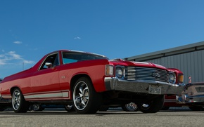 Picture style, Chevy, the front, 1972, The Way