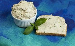 Picture Food, Bread, Vegan cashew spread