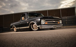 Picture Chevrolet, 1967, Chevy, Pickup, C10, Fleetside