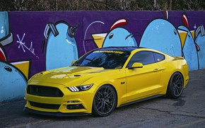 Wallpaper Wheels, 305FORGED, Mustang, Ford