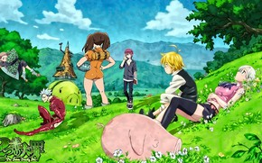 Picture anime, manga, japanese, Nanatsu no Taizai